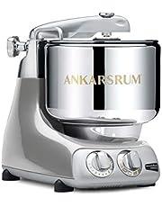 Ankarsrum 6230 SV Assistent originele AKM6230 keukenmachine Jubilee Silver (JS), 1500 W, 7 liter, aluminium, zilver