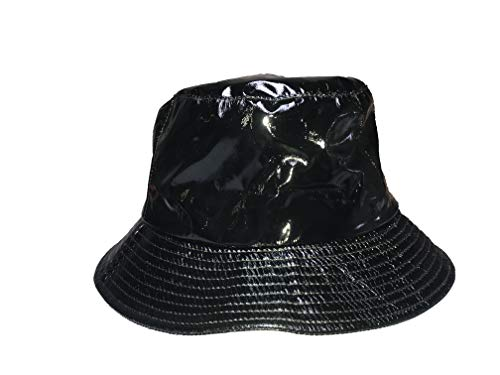 TOUTACOO, Waterproof Wax Style Bucket Rain Hat -
