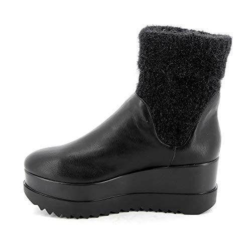 By Scarpe Alesya amp;scarpe Stivaletti Alti Negro Donna Zxw1TOq