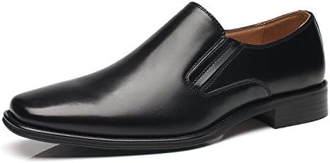3f058652be8e8 NXT NEW YORK Genuine Leather Men Dress Shoes Plain Toe Slip On ...