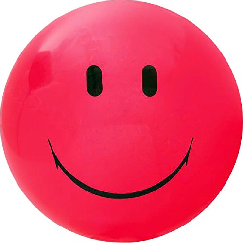 Ball Inflate Face (Jumbo Smile Face Playground Ball - 2 Pack (Red))