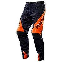 Troy Lee Adultos Pantalones de Sprint, Azul Marino/Naranja
