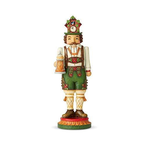 (Enesco Jim Shore Heartwood Creek German Nutcracker Figurine)