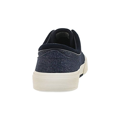 Polo Door Ralph Lauren Mens Faxon Lage Vetersluiting Mode Sneaker Marine