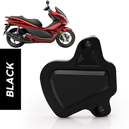 Motorcycle Modified CNC PCX 150 125 Engine Guard Cover Pad Protector For Honda PCX150 PCX125 2018 2019 Parts (black)
