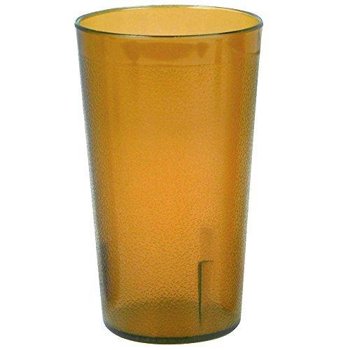 32 oz. Pebbled Plastic Tumbler 12/Pack - Amber