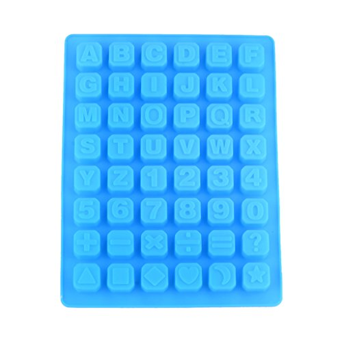 10YEAR Silicone Letters Number Dessert Mold Model Cake Chocolate Mould Kitchen Tool - Blue