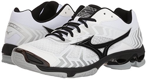 Pictures of Mizuno Men's Wave Bolt 7 Volleyball Shoes White 4