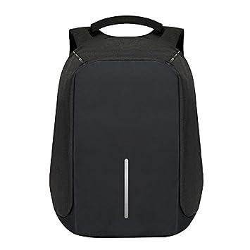 019e6367ce REWYOzoy Zofey Business Anti-Theft Fabric Water Resistant USB Charging Port  Black Laptop Backpack