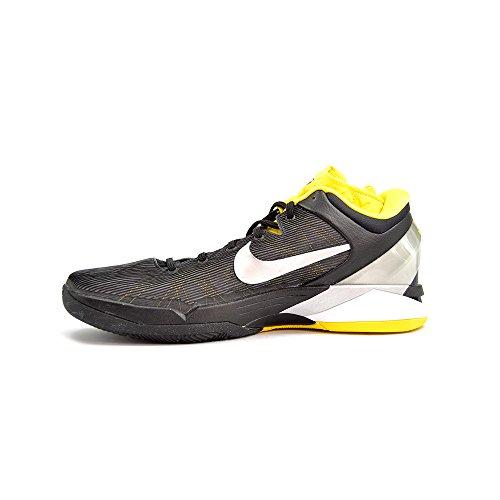 Nike Hash Basketball, Zapatillas de Baloncesto Unisex Adultos, Blanco/Negro (White/Black), 42 1/2 EU