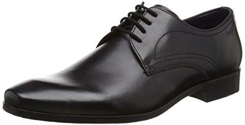 Bugatti 311131011010 - Zapatos de cordones derby Hombre Negro (Schwarz)