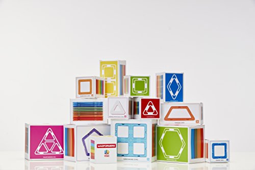 Magformers Isosceles Triangle (12 Piece) Set Magnetic Building Blocks JungleDealsBlog.com