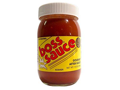 Boss Sauce Gourmet After-Sauce MILD (one jar)