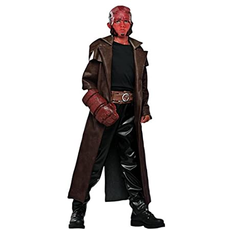 amazoncom deluxe hellboy costume small toys games