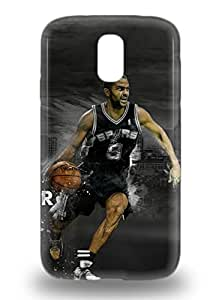 Awesome NBA San Antonio Spurs Tony Parker #9 Flip 3D PC Case With Fashion Design For Galaxy S4