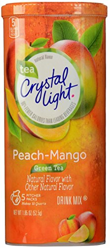 Crystal Light Peach 10 Quart Canister product image