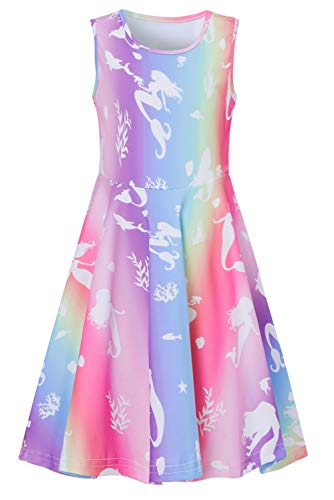 Idgreatim 6 Years Old Girls Mermaid Dresses Teenager