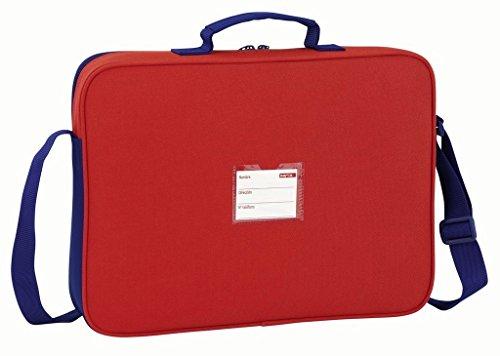 Safta Borsa Messenger, bianco e rosso (multicolore) - 611758385