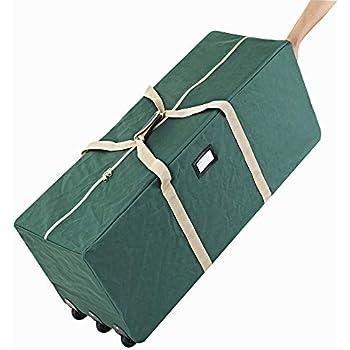 Amazon Com Santas Bags Rolling Tree Storage Duffel For 6