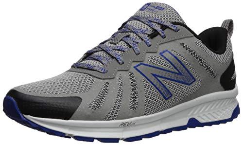 New Balance Men's 590v4 FuelCore Trail Running Shoe rain Cloud/Team Royal/Black 10.5 D US