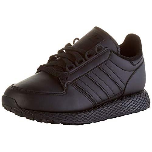 chollos oferta descuentos barato adidas Forest Grove J Zapatillas de Gimnasio Unisex Adulto Núcleo Negro Núcleo Negro Núcleo Negro 39 1 3 EU