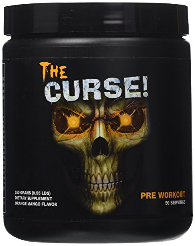Cobra Labs The Curse Weight Loss Supplement, Orange Mango, 50 Servings, 0.55 Pound