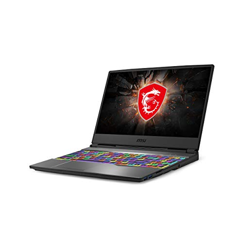 MSI GP65 Leopard 10SDK-433 15.6 144Hz 3ms Laptop para juegos Intel Core i7-10750H GTX1660Ti 16GB 512GB NVMe SSD Win10 VR Ready