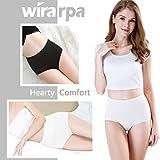 wirarpa Womens Cotton Underwear Panties High