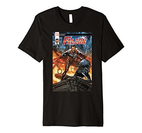 Marvel Legacy Falcon Fury Comic Cover Premium T-Shirt - Fury Premium T-shirt