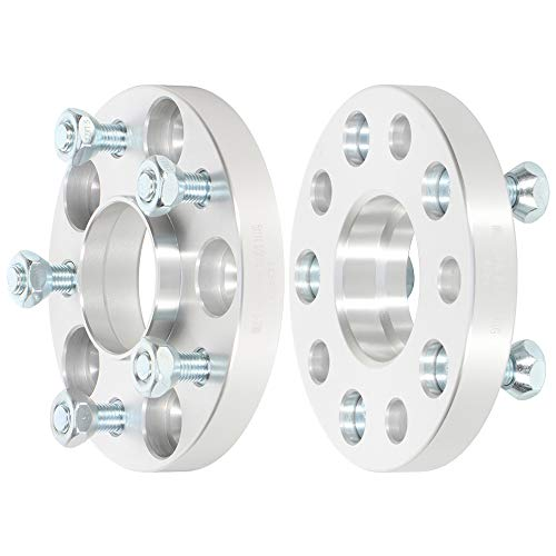 BLACK. 15MM HONDA HUB CENTRIC SPACERS 5X114.3 CB 64.1 NO STUDS INCLUDED