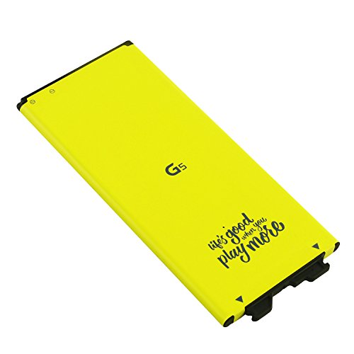 LG Spare Extra Standard Replacement Battery BL-42D1F (Bulk Packaging) For LG G5 with Prime (Battery Electronics Lg)
