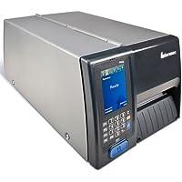 Intermec PM43A12000000301 Series PM43 TT Desktop Printer, 300 DPI, Touch Interface, WIFI, Serial, USB, Ethernet, Fixed Hanger, Thermal Transfer, US Power Cord