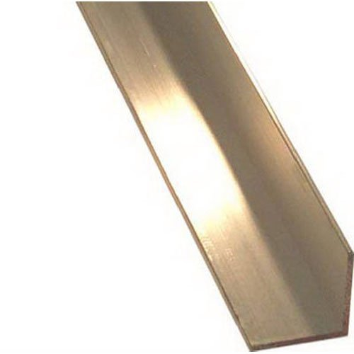 (STEELWORKS BOLTMASTER 11373 Offset Aluminum Angle, 1/16 x 1/2 x 36