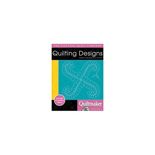 CD-ROM Quilting Designs Quiltmakers Volume 4 by Electric Quilt