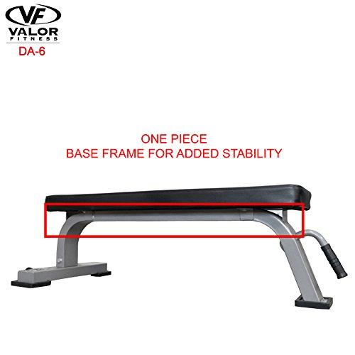 Valor Fitness DA-6 Flat Bench by Valor Fitness (Image #3)'