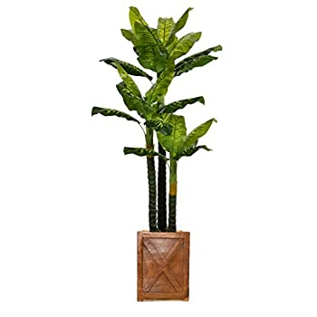 Image of Vintage Home VHX123207 Real Touch Evergreen Planter, 81' Artificial Trees