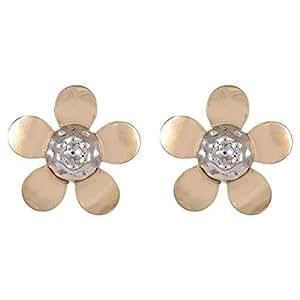 Marhaba 18K Solid Yellow Gold Stud Earrings
