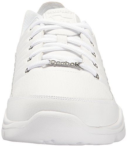 Reebok Mens Royal Lumina Mt Xwd4e Mode Sneaker Multi - Blanc / Blanc / Collégial Royal - Large E