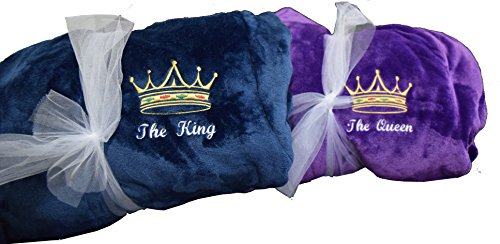 King & Queen Bathrobe Set