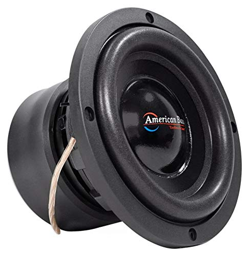 """American Bass XD 65 XD65 6.5"""" Car Subwoofer, 4 Ohm Sub, 300 Watts, Direct Leads"""