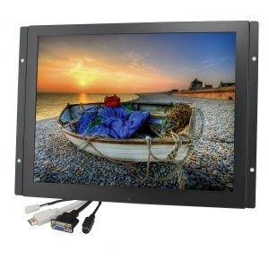 ACCELE LCDM15LED 15'' Metal Housed Surface/Flush/VESA Mount w/LED Backlight