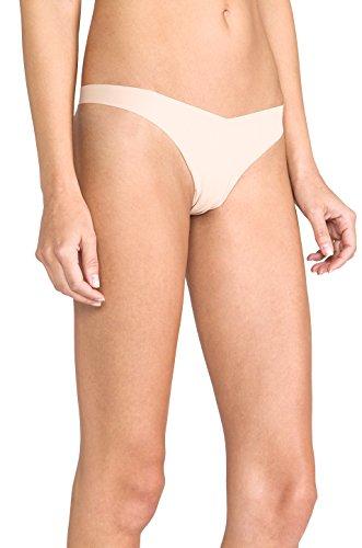 Commando Tiny Thong Panty (Commando Better Than Nothing Tiny Thong TT01 Light Nude M L)