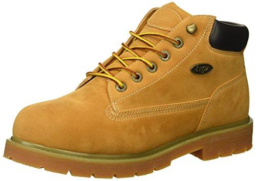 Lugz Heren Drifter Mid Stalen Neus Mode Boot Gouden Tarwe / Schors / Bruin / Gum