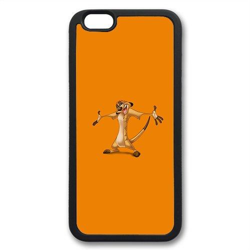 Coque silicone BUMPER souple IPHONE 7 - Roi Lion Simba Pumba the Lion king timon motif 3 DESIGN case+ Film de protection OFFERT