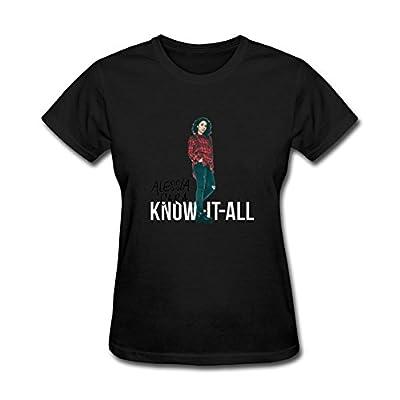 JXK Women's Alessia Cara Wild Things 2016 Pop T-shirt