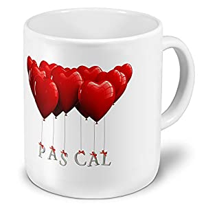 xxl giant cup with the name pascal jumbo mug with heart design called cup mug cup mug. Black Bedroom Furniture Sets. Home Design Ideas