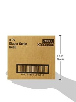 Playtex Diaper Genie Refills For Diaper Genie Diaper Pails - 270 Count (Pack Of 3) 6