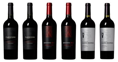 Dark Horse, Apothic, and Carnivor Red Wine Mixed Pack, 6 x 750 mL
