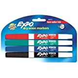 EXPO 86661 Low-Odor Dry Erase Markers