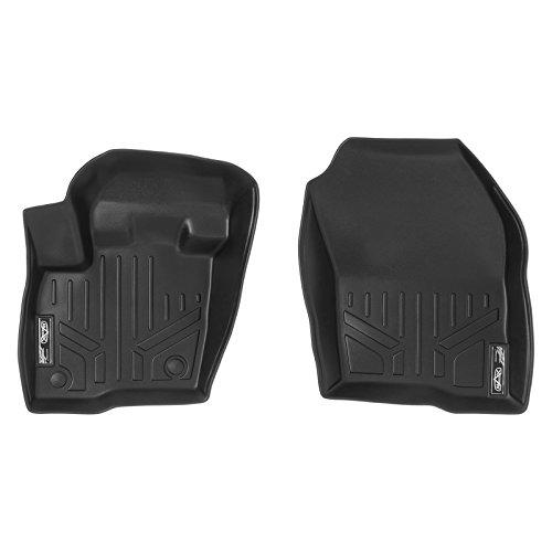 MAX LINER A0192 Custom Fit Floor Mats 1st Row Liner Set Black for 2015-2019 Ford Edge - Floor Mats Ford Edge